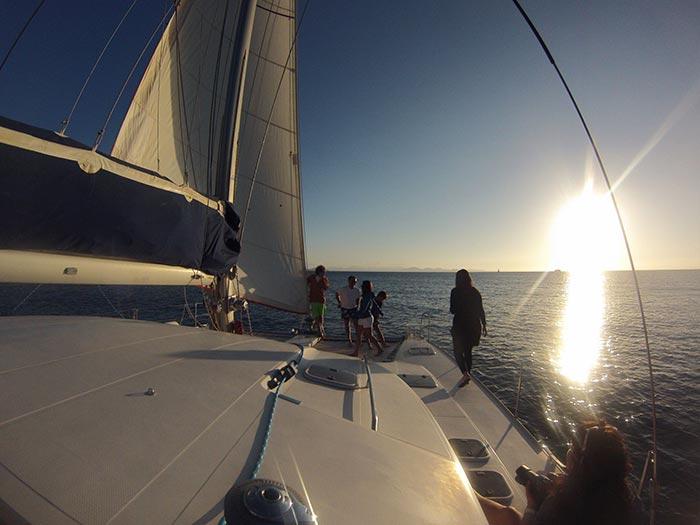 Salida en catamaran a las playas de Papagayo
