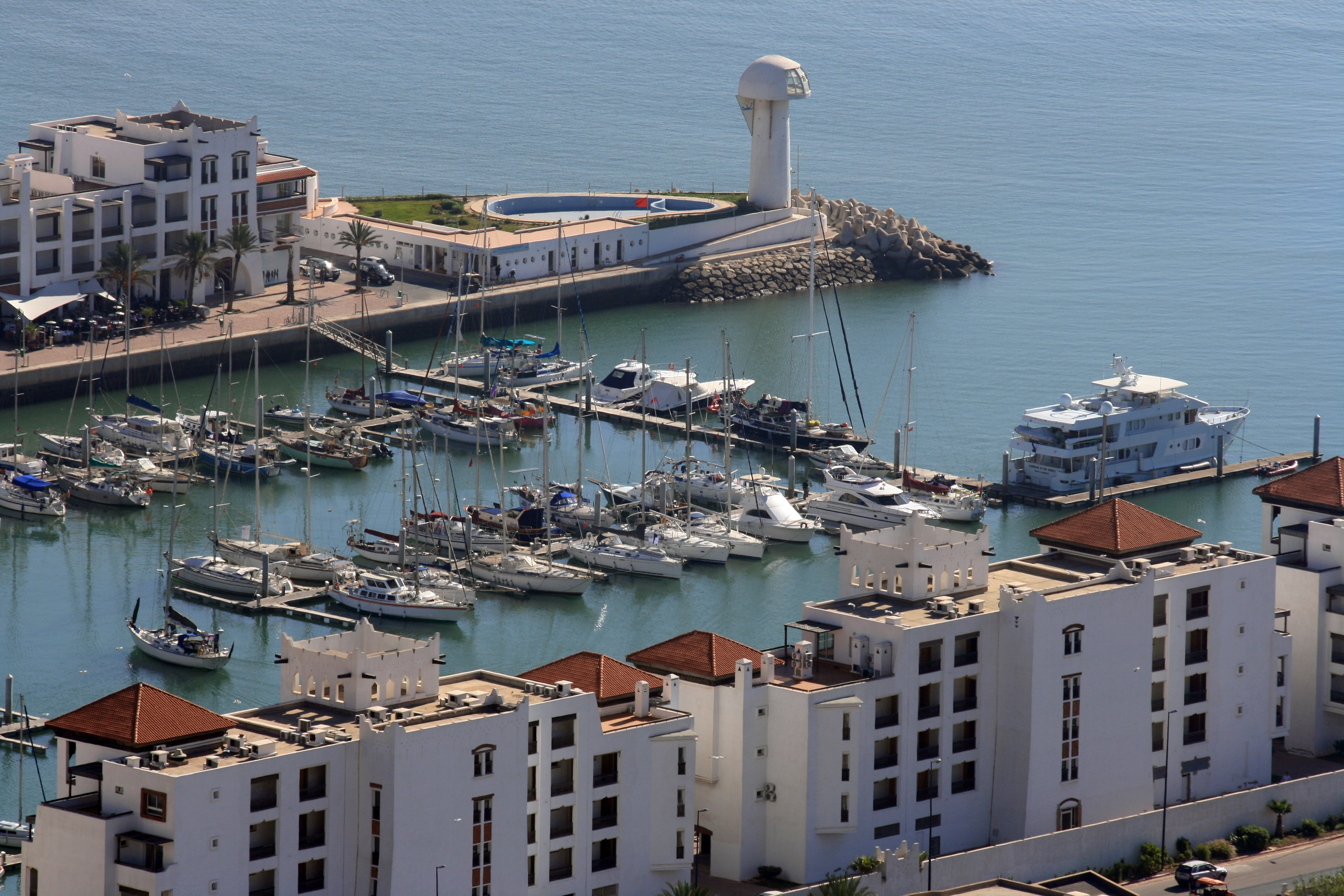 MARINA AGADIR, A MARINA WITH A SURPRISE