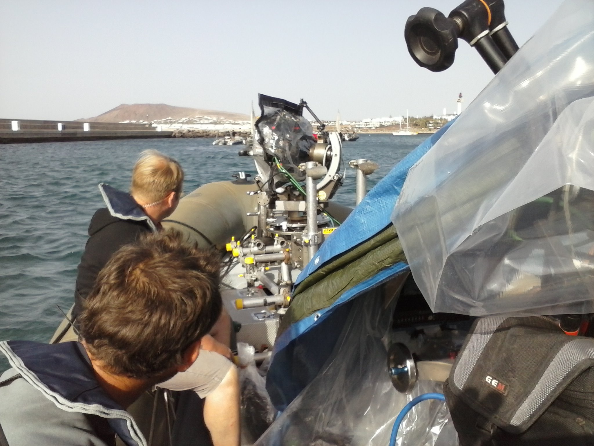 Lanzarote Yacht Charter Working For Film Producers