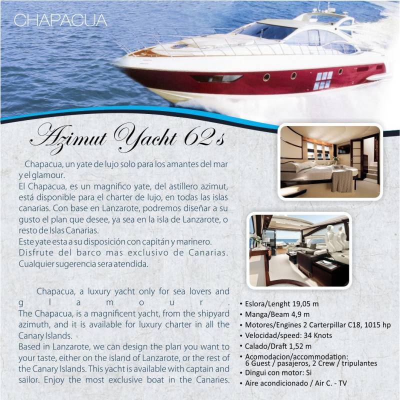 Lanzarote Yacht Charter 4