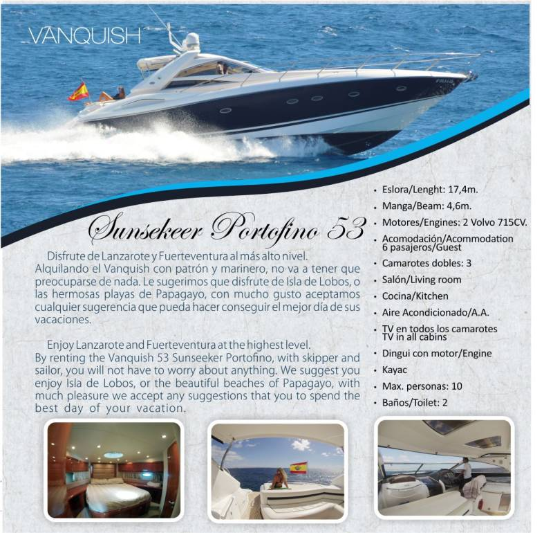 Lanzarote Yacht Charter 5
