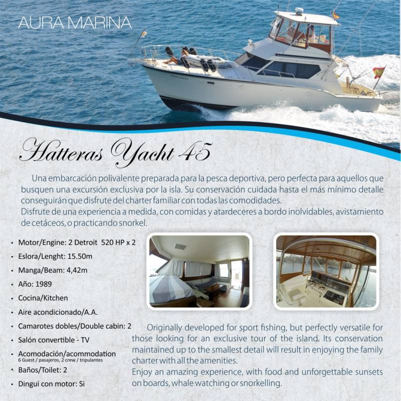 Lanzarote Yacht Charter 6