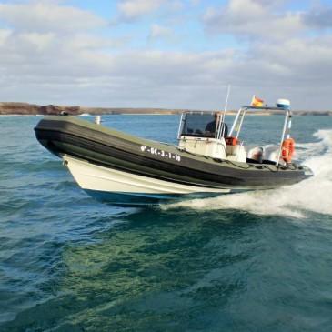 Licencia de Navegación en Lanzarote, semanal.