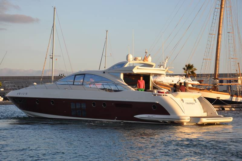 Boat rentals per week in Lanzarote and the Canary Islands