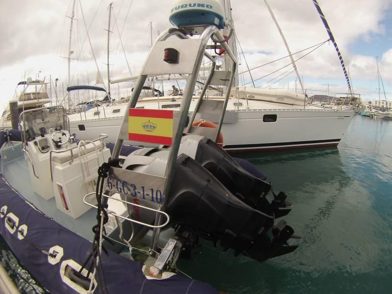 Motoras de alquiler en Lanzarote www.lanzaroteyachtcharter.com