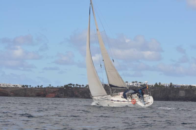 alquiler de velero en Lanzarote